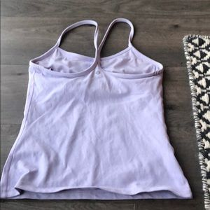 lululemon athletica Tops - Lulu lemon power y lavender tank size 6
